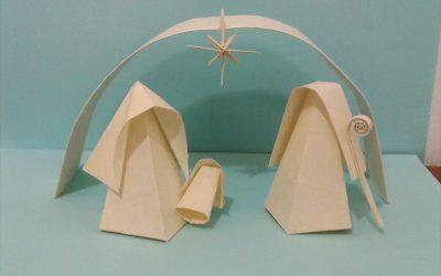 Papiroflexia – Natividad en origami
