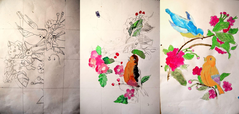 Dibujo-pintura