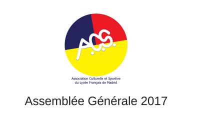 Assemblée Générale – Jeudi 30 Novembre