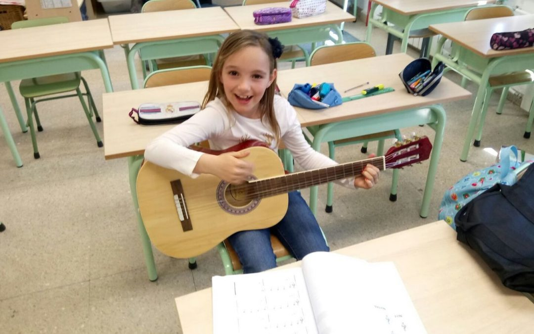 Música – Guitarra Clásica, Eléctrica y Ukelele