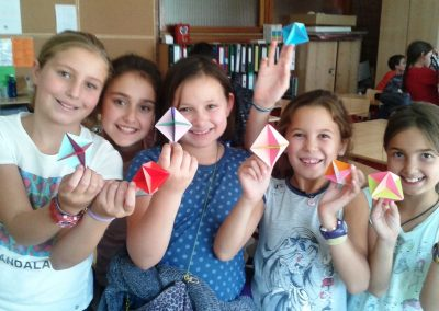 Alumnos de Origami